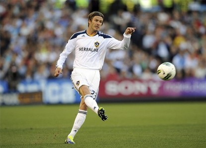 Beckham sigue mostrando la calidad de su diestra en la MLS