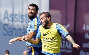 Aleix Vidal y Arda Turan vivirán su último partido antes de poder ser inscritos por el Barça