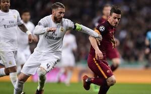Ramos, en el partido del Bernabéu