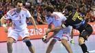 España derrotó a Croacia en las semis del pasado Europeo de Polonia (33-29)