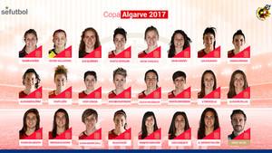 La convocatoria de la Selección Española femenina para la Copa Algarve