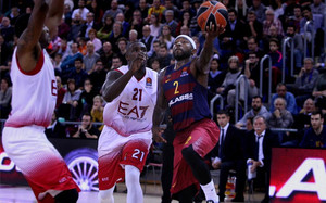 El Barça Lassa se impuso en la ida por 89-75 en el Palau