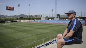 Xavi Llorens dejará el banquillo del Barça a final de temporada