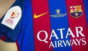 Esta es la camiseta del Barcelona para la final de la Copa del Rey