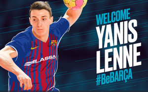 Yanis Lenne, nuevo jugador del FC Barcelona Lassa