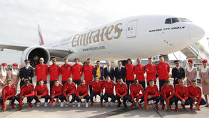 La plantilla del PSG antes de partir para la gira por Estados Unidos 2017