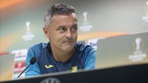 Fran Escribá ha sido destituido de su cargo como entrenador del Villarreal