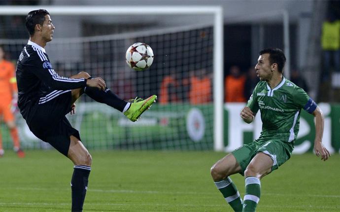 Cristiano empata de penalti en Bulgaria