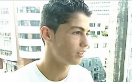 Cristiano Ronaldo, durante el reportaje