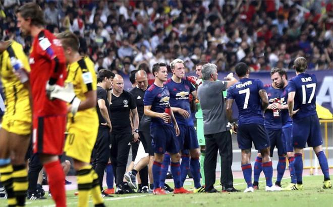 La delegaci�n del Manchester United tuvo problemas