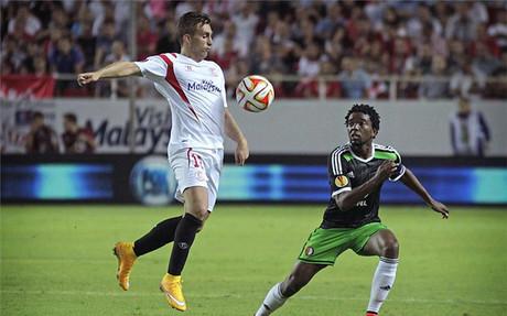 Deulofeu regresa al Camp Nou con la camiseta del Sevilla
