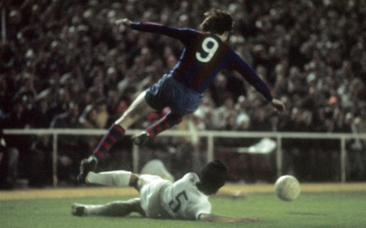 El 0-5, el mayor hito de Johan Cruyff como jugador del Bar�a