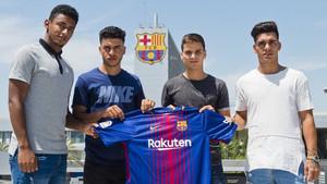 Las cuatro caras nuevas del Barça B