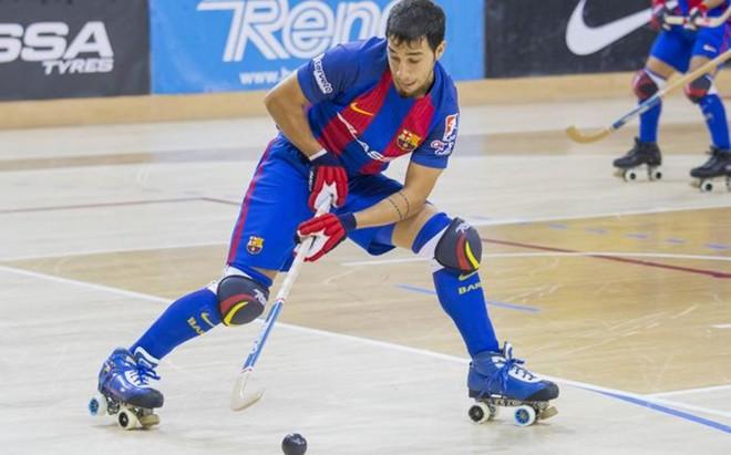 Lucas Ord��ez hizo dos goles en la sexta victoria liguera del Bar�a Lassa