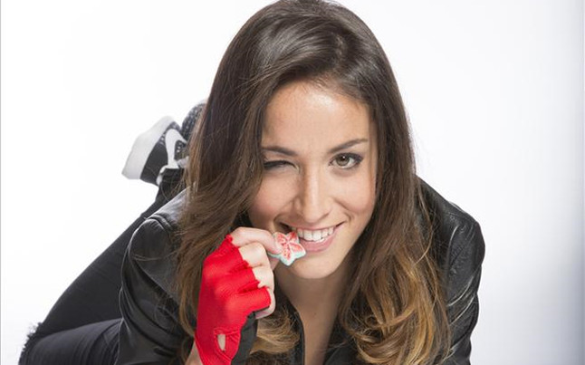 Olga Garc�a, sal dulce