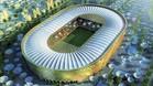 Reproducci�n virtual de uno de los estadios