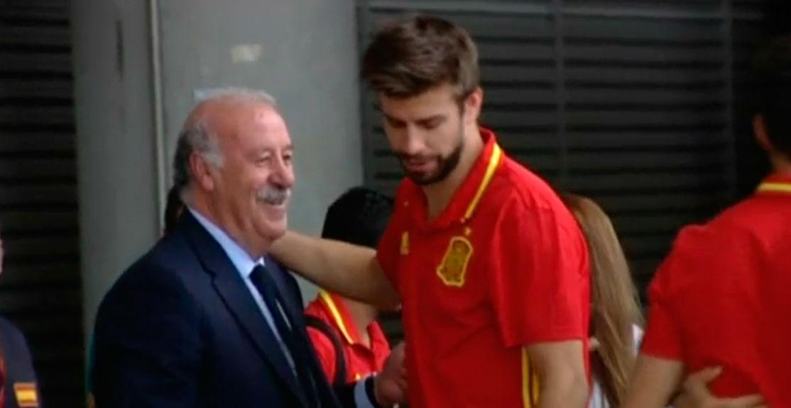 La Roja ya est� en Espa�a