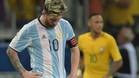 La selección argentina está siendo un calvario para Messi