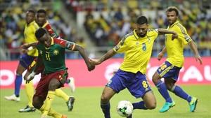 Gabón y Camerún empataron sin goles en la Copa Africa