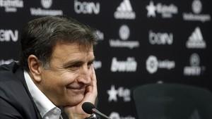 José Ramón Alexanco, director deportivo del Valencia