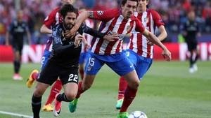 Isco ha superado al Atlético de Madrid