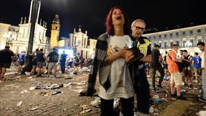 Más de 1.500 personas resultaron heridas o contusionadas en la estampida