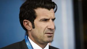Luis Figo, asesor personal del presidente de la UEFA