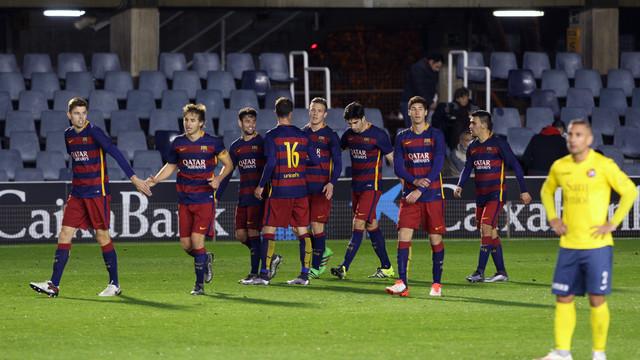 FC Barcelona B 2 - UD Olot 0