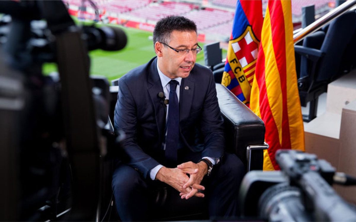 Barcelona reveló su plan para Estados Unidos
