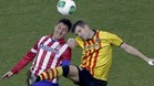 'Cebolla' Rodr�guez en un partido de Copa contra el Sant Andreu