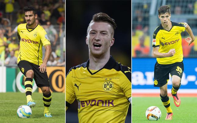 Estos son los jugadores que espi� Braida en Dortmund