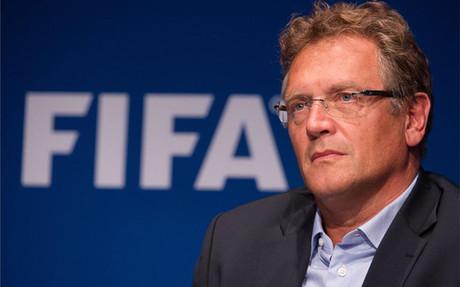 J�r�me Valcke, antiguo secretario general de la FIFA.