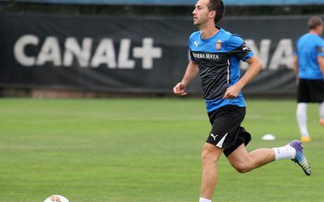 Lanzarote a�n no ha debutado esta temporada con el Espanyol