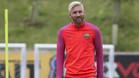 Messi, en el stage de pretemporada