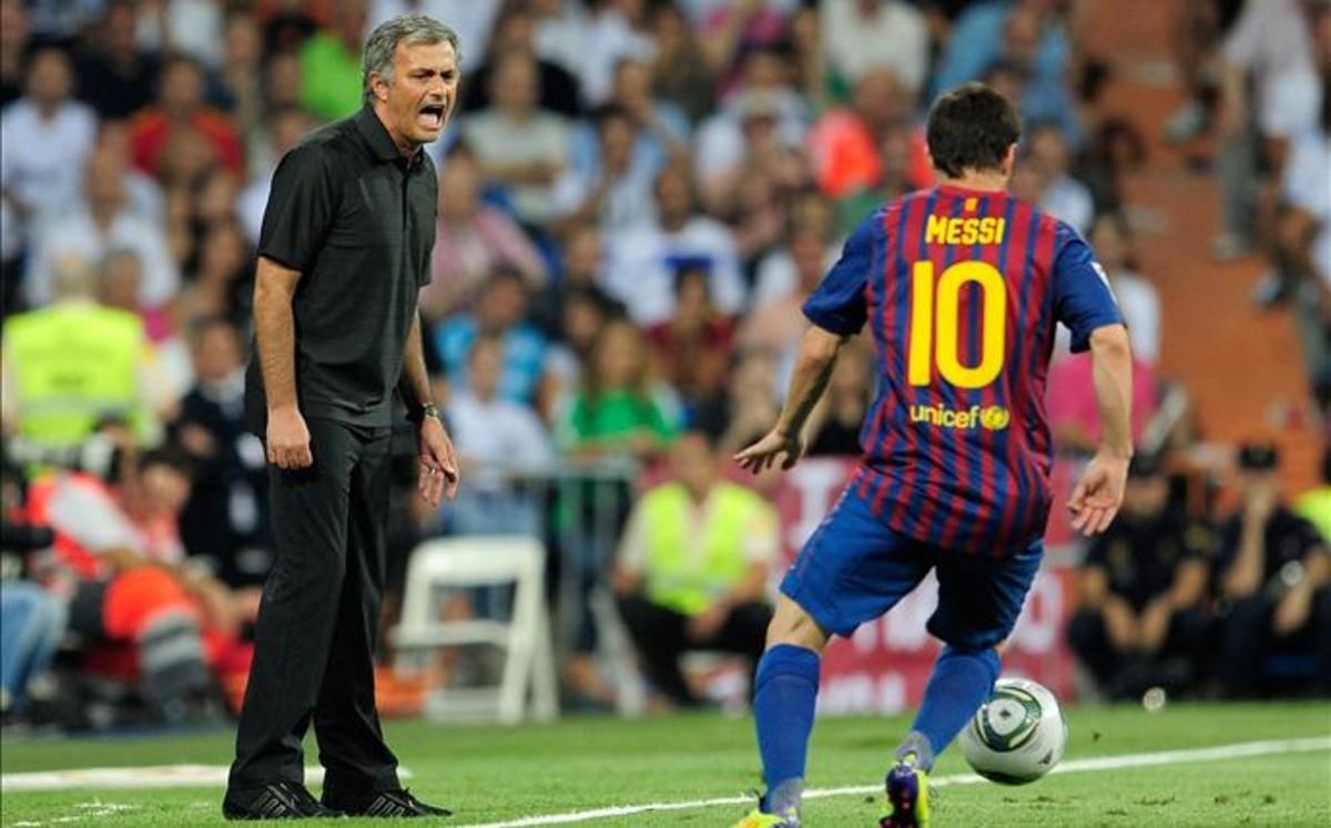"Mourinho: ""Es m�s f�cil ganar la Champions con Messi"""