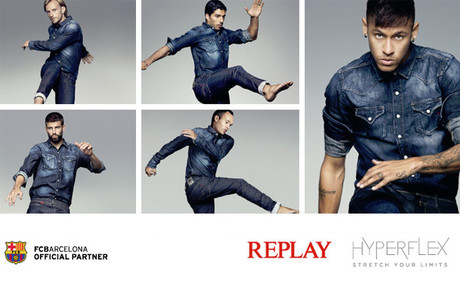 Neymar, Piqu�, Luis Suarez, Iniesta y Rakitic, protagonista del anuncio de Replay