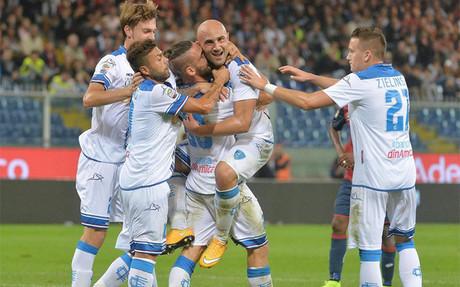 Tonello, felicitado por un gol para la pol�mica