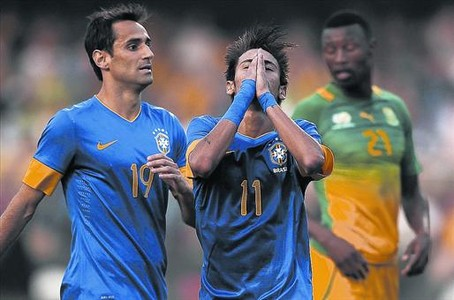 Europe beckons: Neymar booed off by Brazil fans at end of win over South Africa