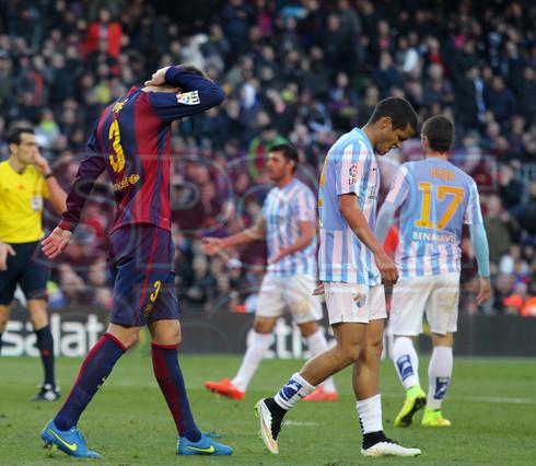صور : مباراة برشلونة - ملقا  0-1 ( 21-02-2015 )  1424541191948
