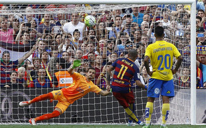 Neymar falló un penalti ante Las Palmas esta temporada