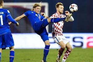 Rakitic jugó 85 minutos con Croacia