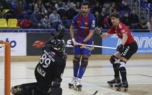 El Barça Lassa superó sin problemas al CE Mortiz Vendrell