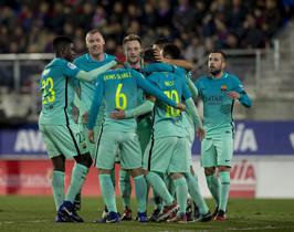 Eibar, 0 - FC Barcelona, 4