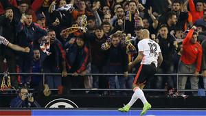 Zaza adelantó al Valencia