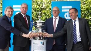Un brindis por los 10 años de éxitos del Open Banc Sabadell