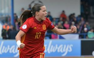 La azulgrana Claudia Pina ha marcado en el Europeo sub-17