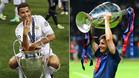 Cristiano Ronaldo y Messi, con la Champions