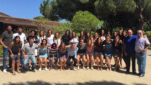 El Barça femenino celebró una comida de equipo antes de afrontar la Copa de la Reina