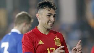 Munir El Haddadi optará por jugar con la selección de Marruecos a partir de ahora y renunciará a la española
