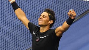 El tenista español Rafa Nadal disputó su tercera final de Grand Slam ante Kevin Anderson